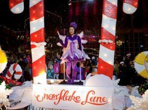 downtown Bellevue Snowflake Lane
