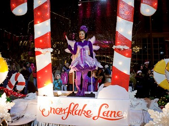 downtown Bellevue Snowflake Lane
